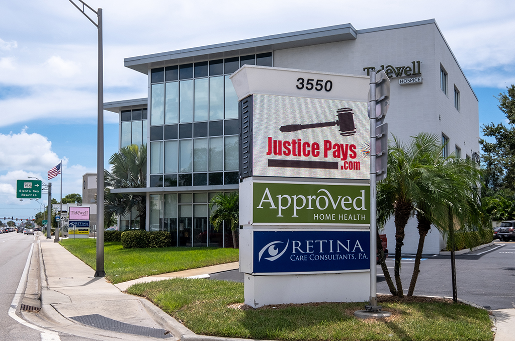 Sarasota Personal Injury Law Firm Practice Areas